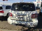 White[Pearl White] 2017 Nissan Armada PLATINUM Rear of Vehicle Photo in Sherwood Park AB