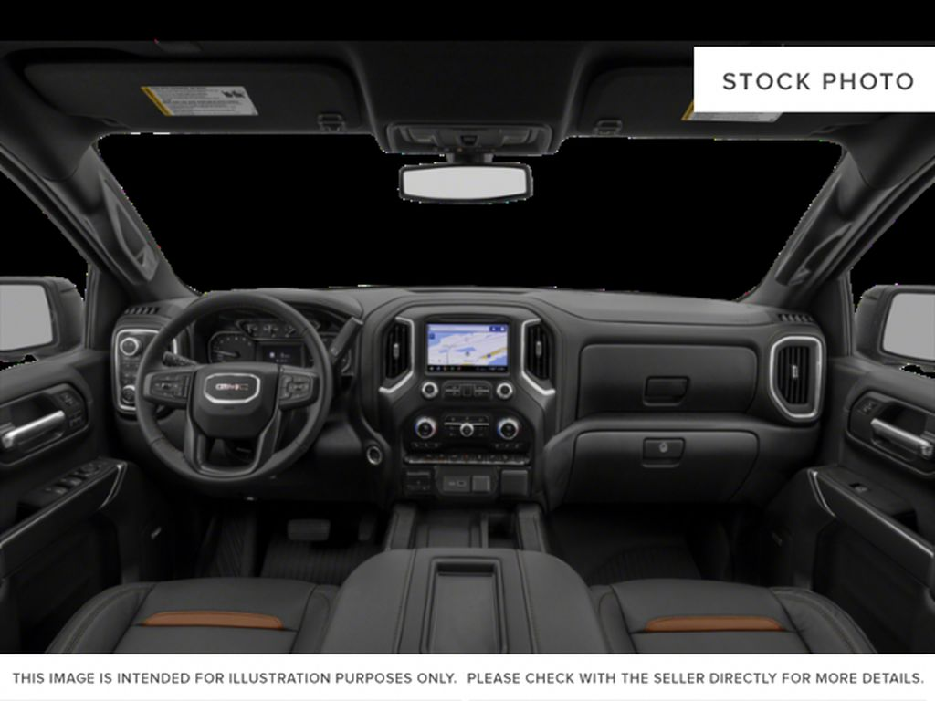Black[Ebony Twilight Metallic] 2021 GMC Sierra 1500 Central Dash Options Photo in Canmore AB