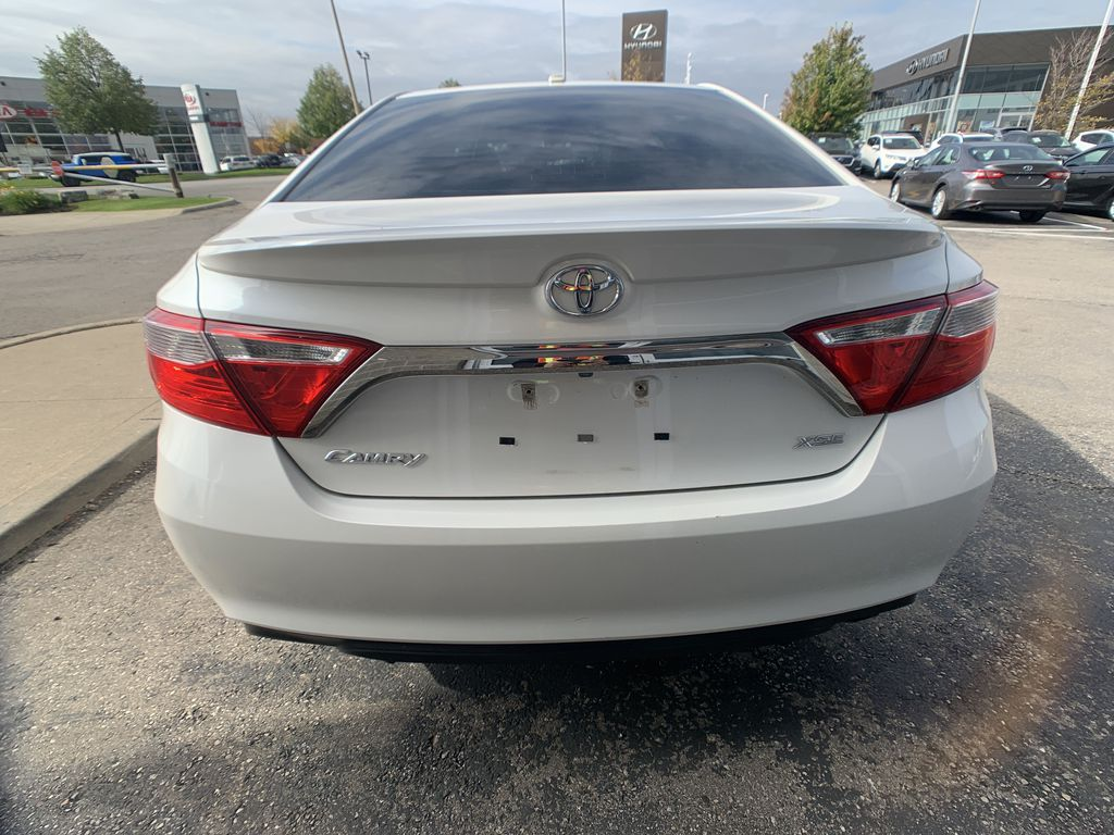 White[Blizzard Pearl] 2017 Toyota Camry clean Left Front Interior Door Panel Photo in Brampton ON