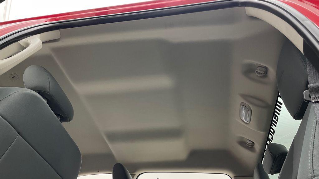 Red[Bright Red] 2018 Ram 1500 Express 4WD - Crew Cab, HEMI, RC Suspension Lift Headliner / Equipment Photo in Winnipeg MB