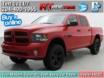 Red[Bright Red] 2018 Ram 1500 Express 4WD - Crew Cab, HEMI, RC Suspension Lift Primary Photo in Winnipeg MB