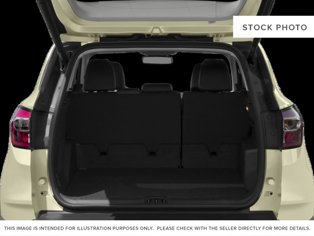 White[White Platinum Metallic Tri-Coat] 2017 Ford Escape Trunk / Cargo Area Photo in Dartmouth NS