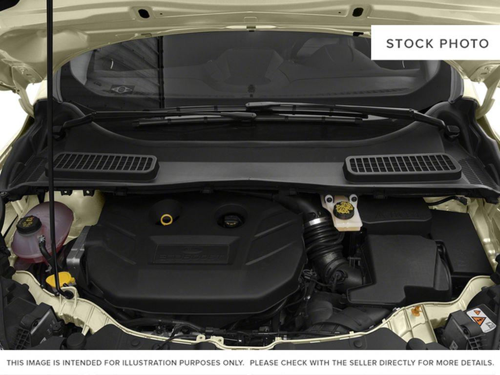 White[White Platinum Metallic Tri-Coat] 2017 Ford Escape Engine Compartment Photo in Dartmouth NS