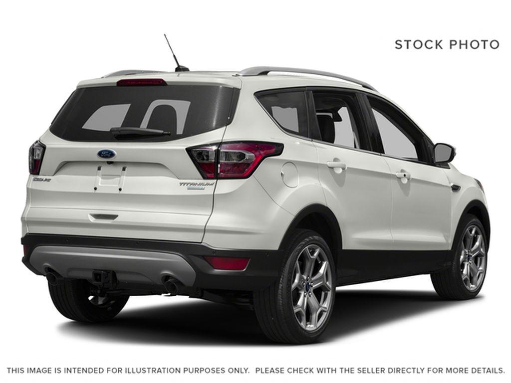 White[White Platinum Metallic Tri-Coat] 2017 Ford Escape Right Rear Corner Photo in Dartmouth NS