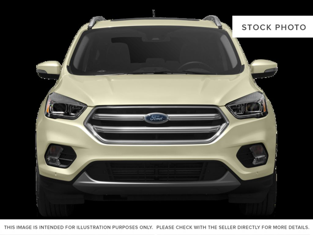 White[White Platinum Metallic Tri-Coat] 2017 Ford Escape Front Vehicle Photo in Dartmouth NS