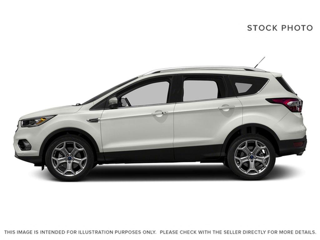 White[White Platinum Metallic Tri-Coat] 2017 Ford Escape Left Side Photo in Dartmouth NS