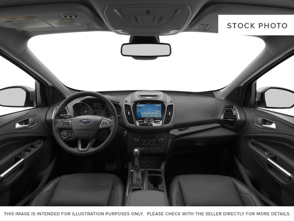 White[White Platinum Metallic Tri-Coat] 2017 Ford Escape Central Dash Options Photo in Dartmouth NS