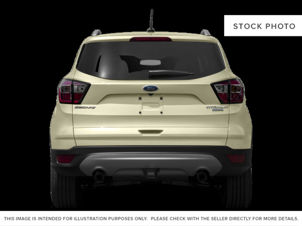 White[White Platinum Metallic Tri-Coat] 2017 Ford Escape Rear of Vehicle Photo in Dartmouth NS