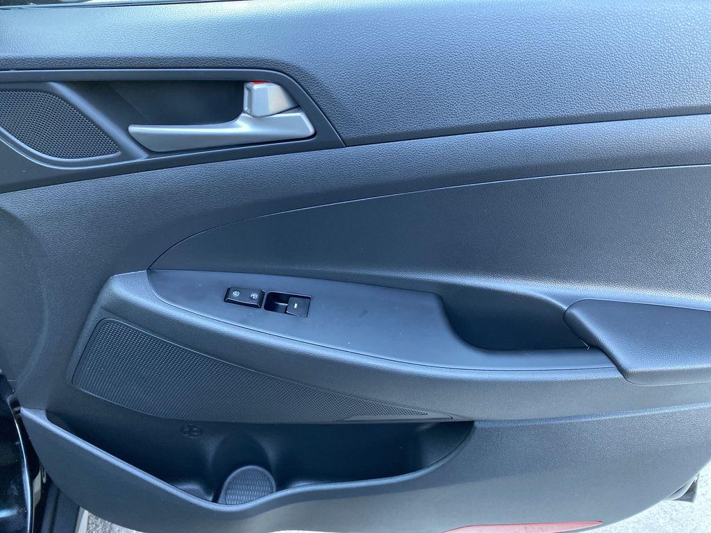 Black[Ash Black] 2018 Hyundai Tucson SE Right Front Interior Door Panel Photo in Canmore AB