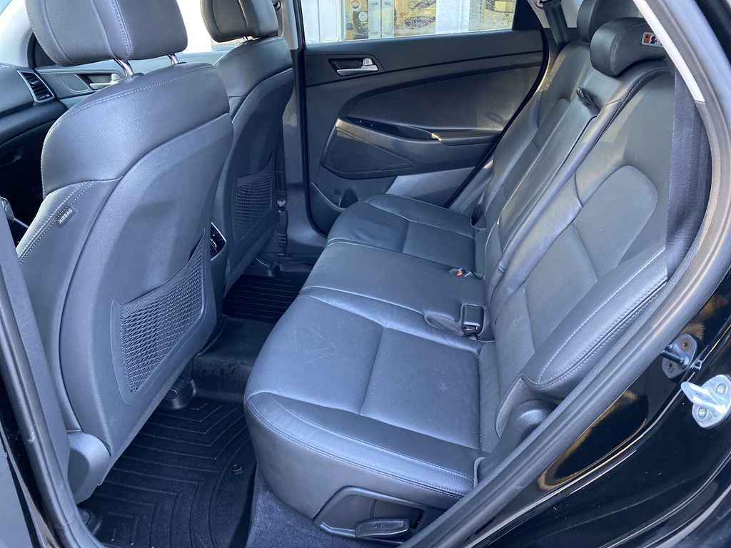 Black[Ash Black] 2018 Hyundai Tucson SE Left Side Rear Seat  Photo in Canmore AB