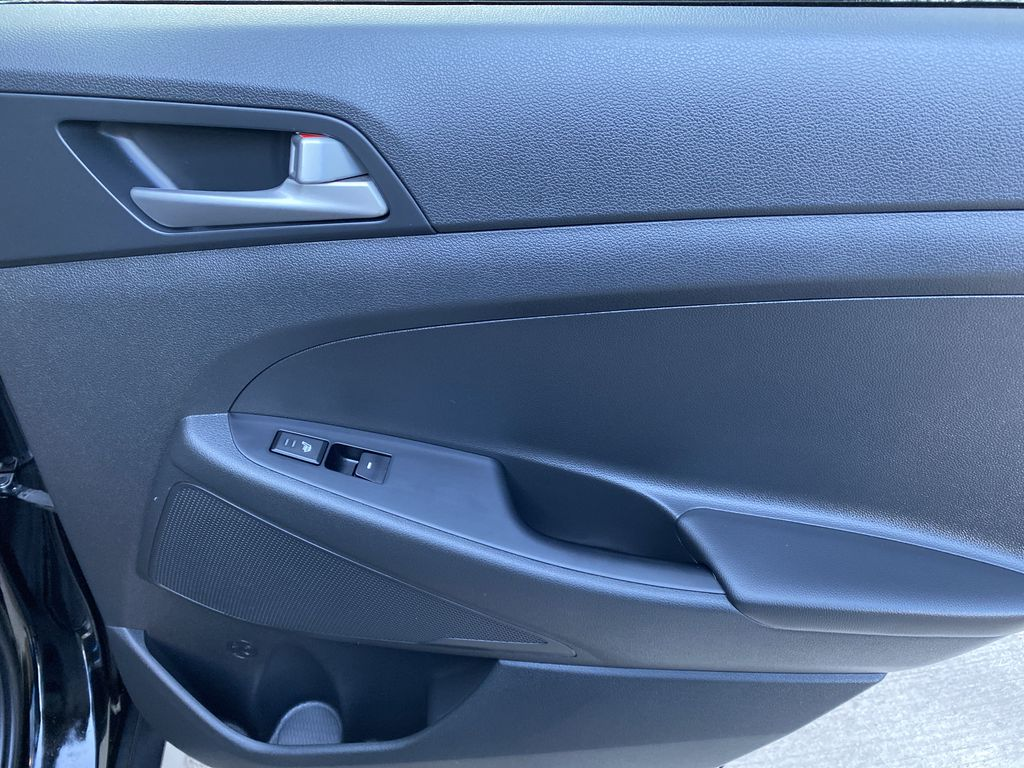 Black[Ash Black] 2018 Hyundai Tucson SE Right Rear Interior Door Panel Photo in Canmore AB