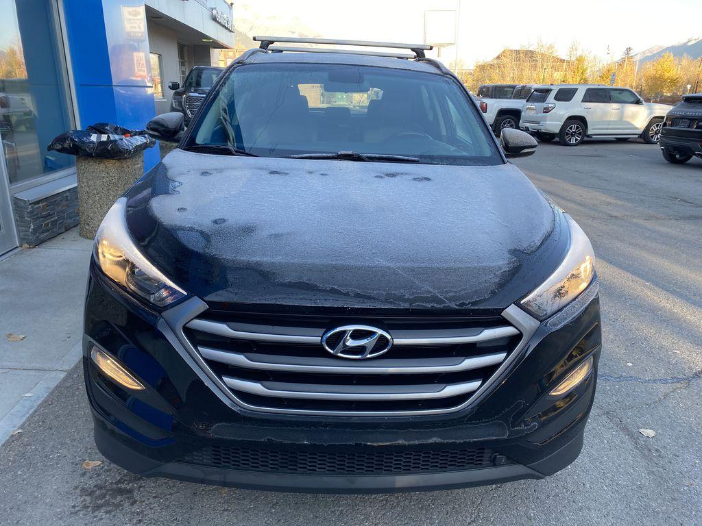 Black[Ash Black] 2018 Hyundai Tucson SE Front Vehicle Photo in Canmore AB