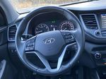 Black[Ash Black] 2018 Hyundai Tucson SE Strng Wheel: Frm Rear in Canmore AB