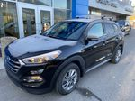 Black[Ash Black] 2018 Hyundai Tucson SE Left Front Corner Photo in Canmore AB