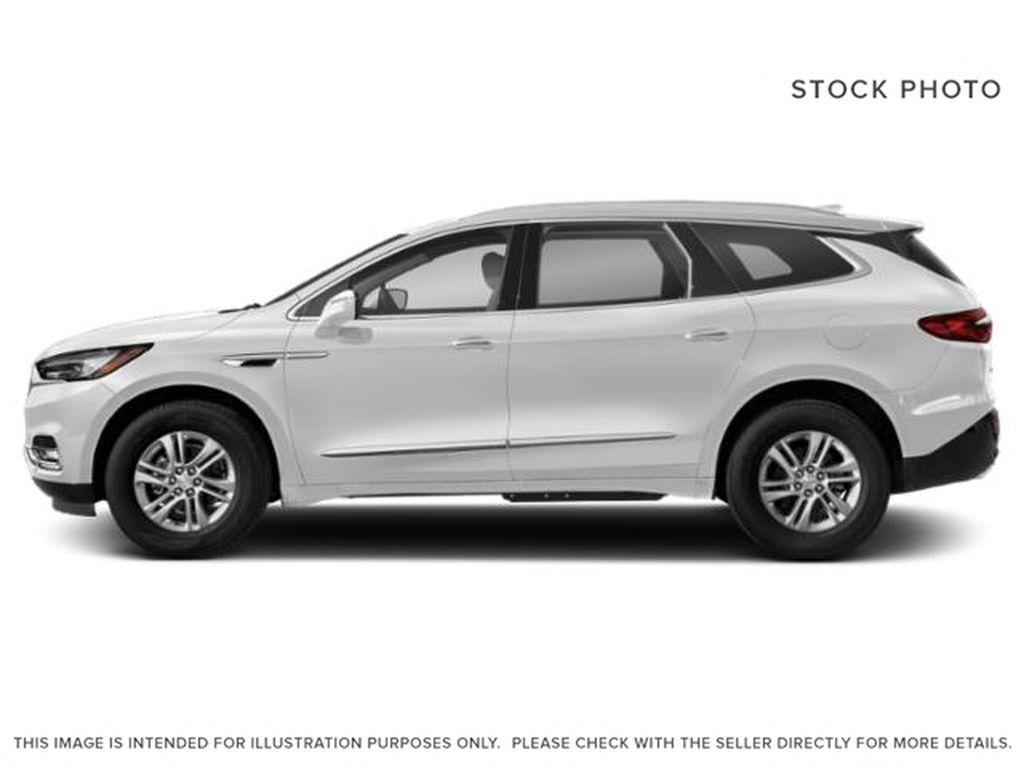 White Frost Tricoat 2021 Buick Enclave Left Side Photo in Oshawa ON