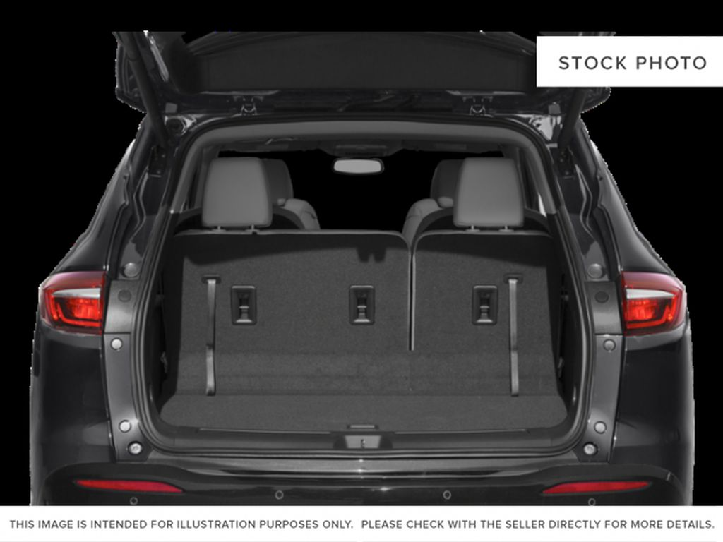 White Frost Tricoat 2021 Buick Enclave Trunk / Cargo Area Photo in Oshawa ON