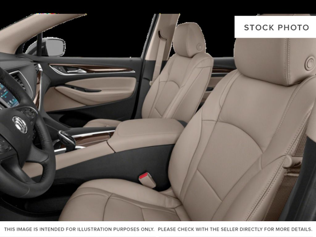 White Frost Tricoat 2021 Buick Enclave Left Front Interior Photo in Oshawa ON