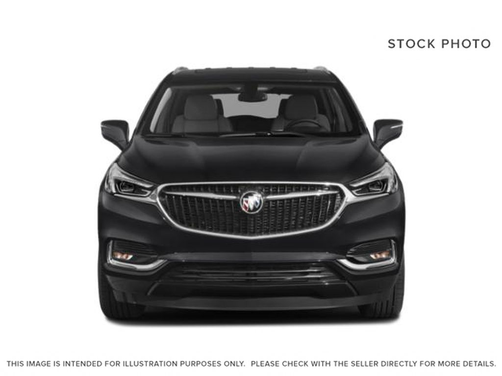 White Frost Tricoat 2021 Buick Enclave Front Vehicle Photo in Oshawa ON