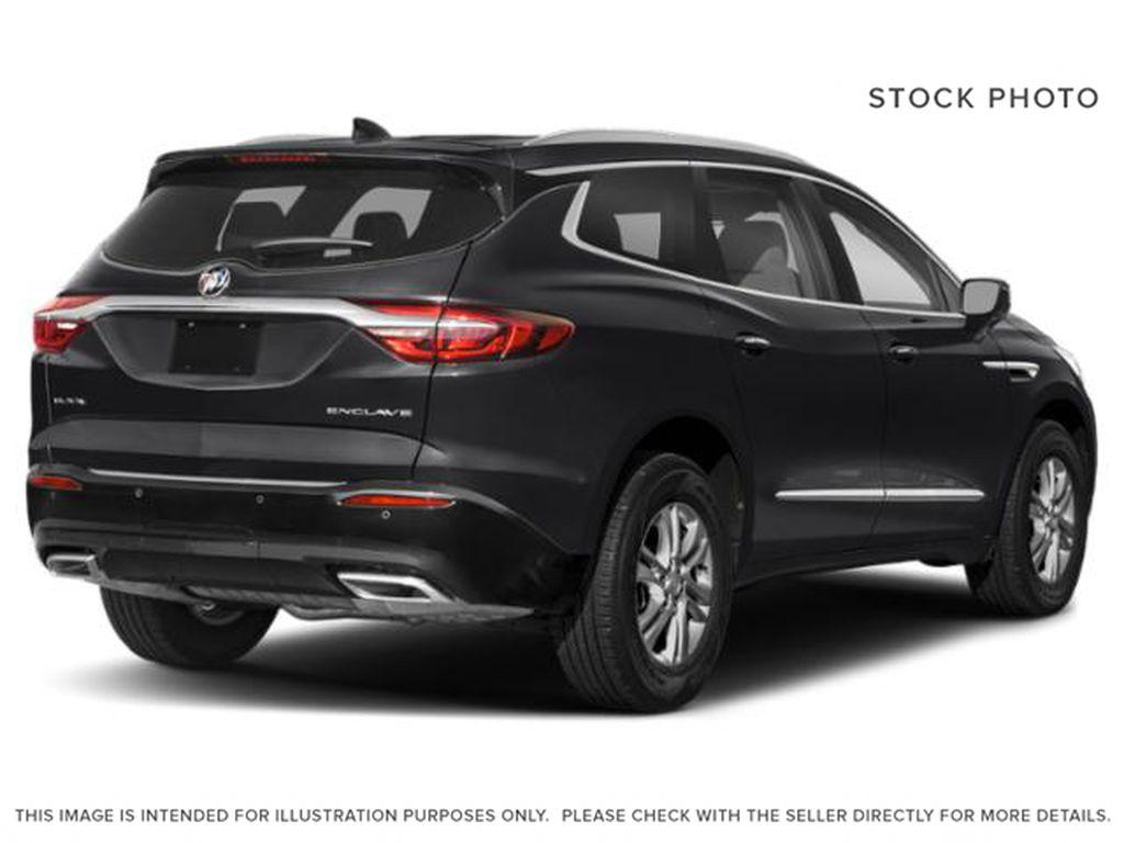 Ebony Twilight Metallic 2021 Buick Enclave Right Rear Corner Photo in Oshawa ON