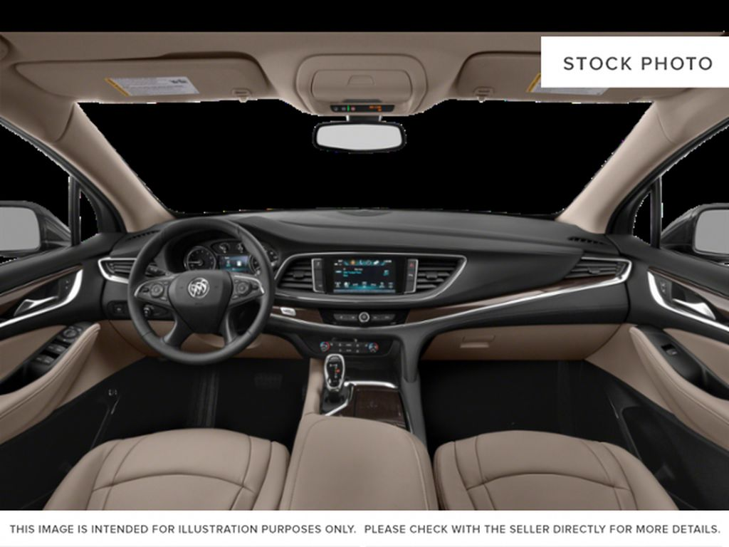 Ebony Twilight Metallic 2021 Buick Enclave Strng Wheel/Dash Photo: Frm Rear in Oshawa ON