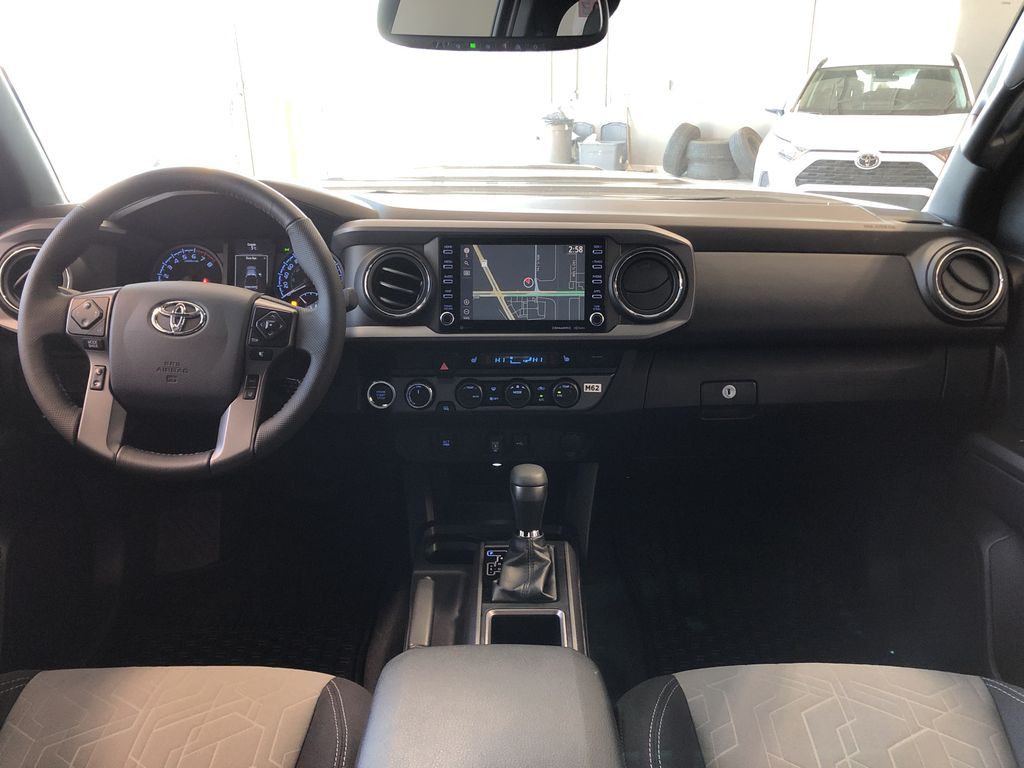 Cement 2021 Toyota Tacoma 4WD Double Cab TRD Sport Fourth Row  Seat  Photo in Edmonton AB