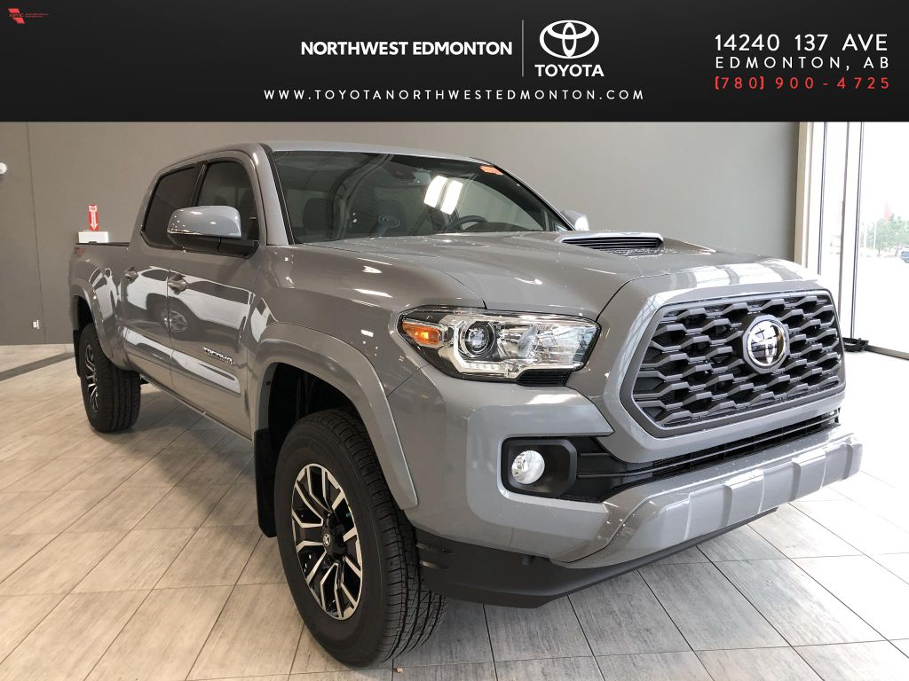 Cement 2021 Toyota Tacoma 4WD Double Cab TRD Sport