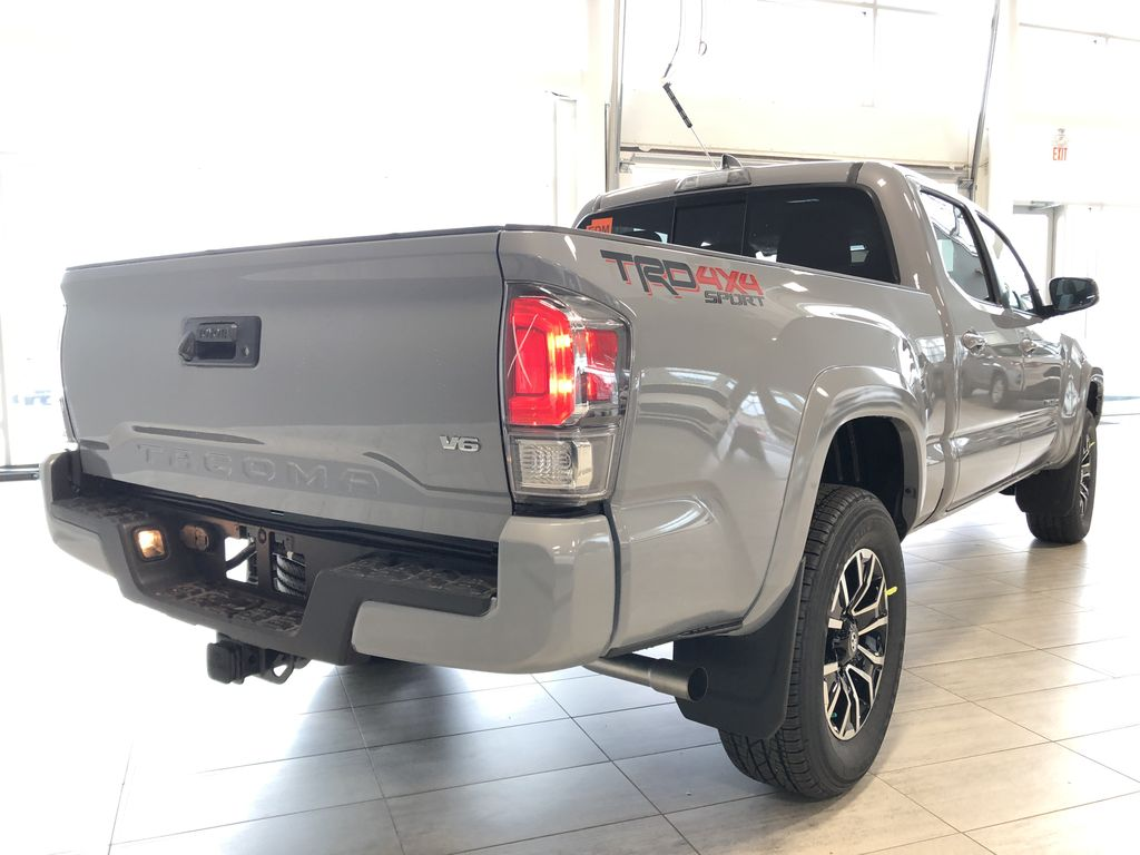 Cement 2021 Toyota Tacoma 4WD Double Cab TRD Sport Right Rear Corner Photo in Edmonton AB