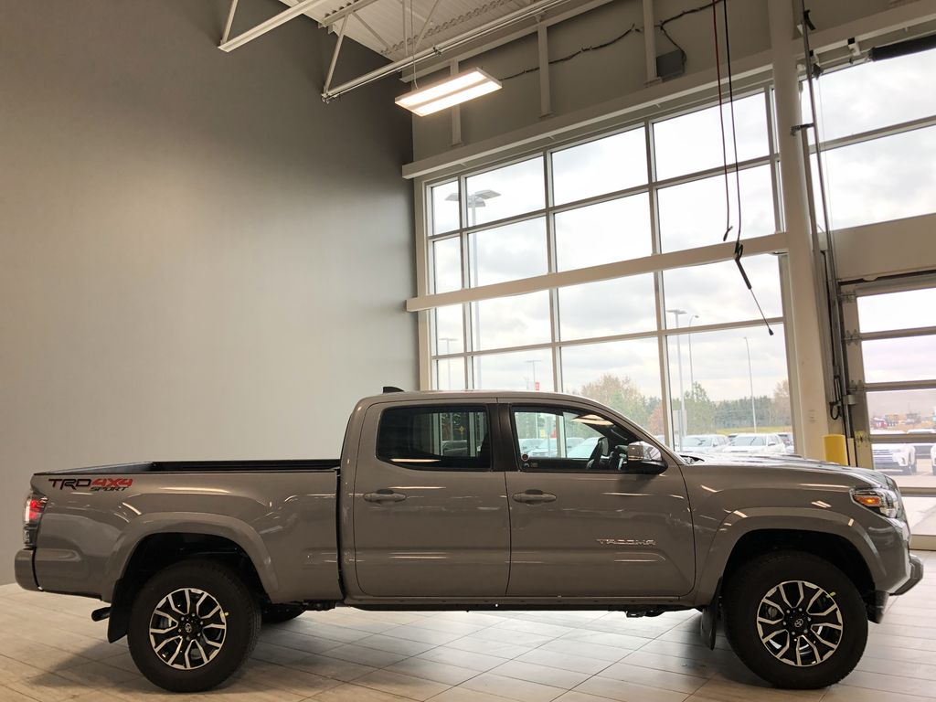 Cement 2021 Toyota Tacoma 4WD Double Cab TRD Sport Rear Seat Photo in Edmonton AB
