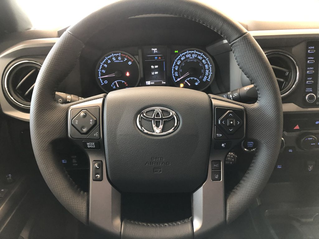 Cement 2021 Toyota Tacoma 4WD Double Cab TRD Sport Right Front Corner Photo in Edmonton AB