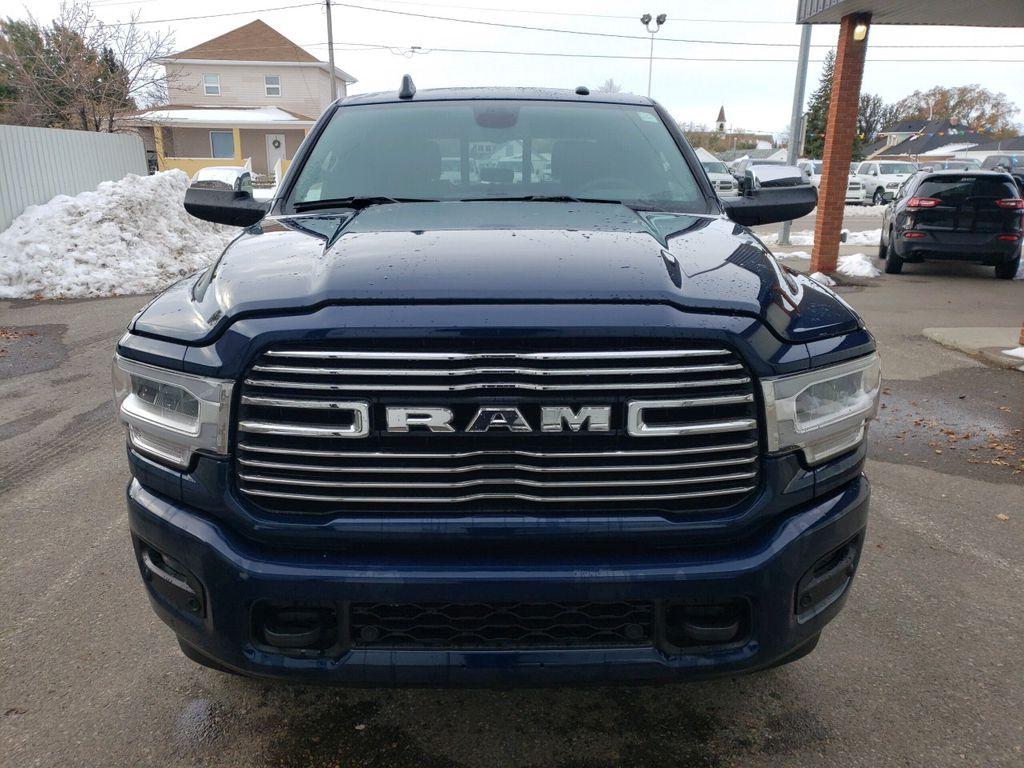Blue[Blue Streak Pearl] 2019 Ram 3500 Left Front Corner Photo in Fort Macleod AB