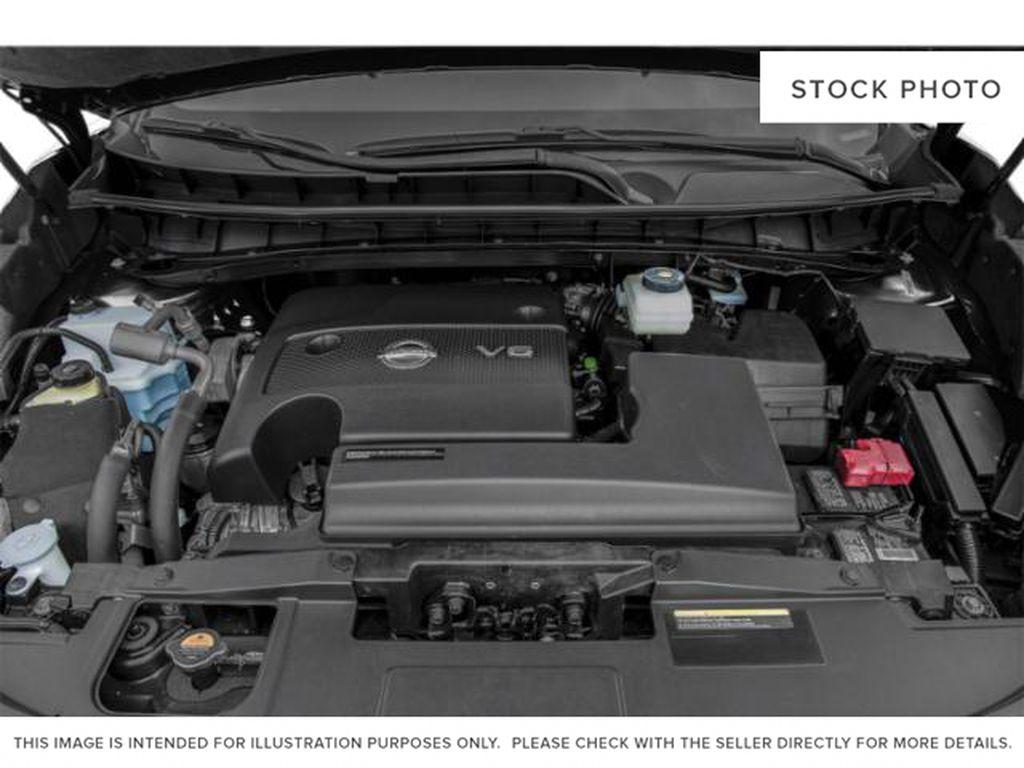 White[Pearl White] 2018 Nissan Murano Engine Compartment Photo in Okotoks AB