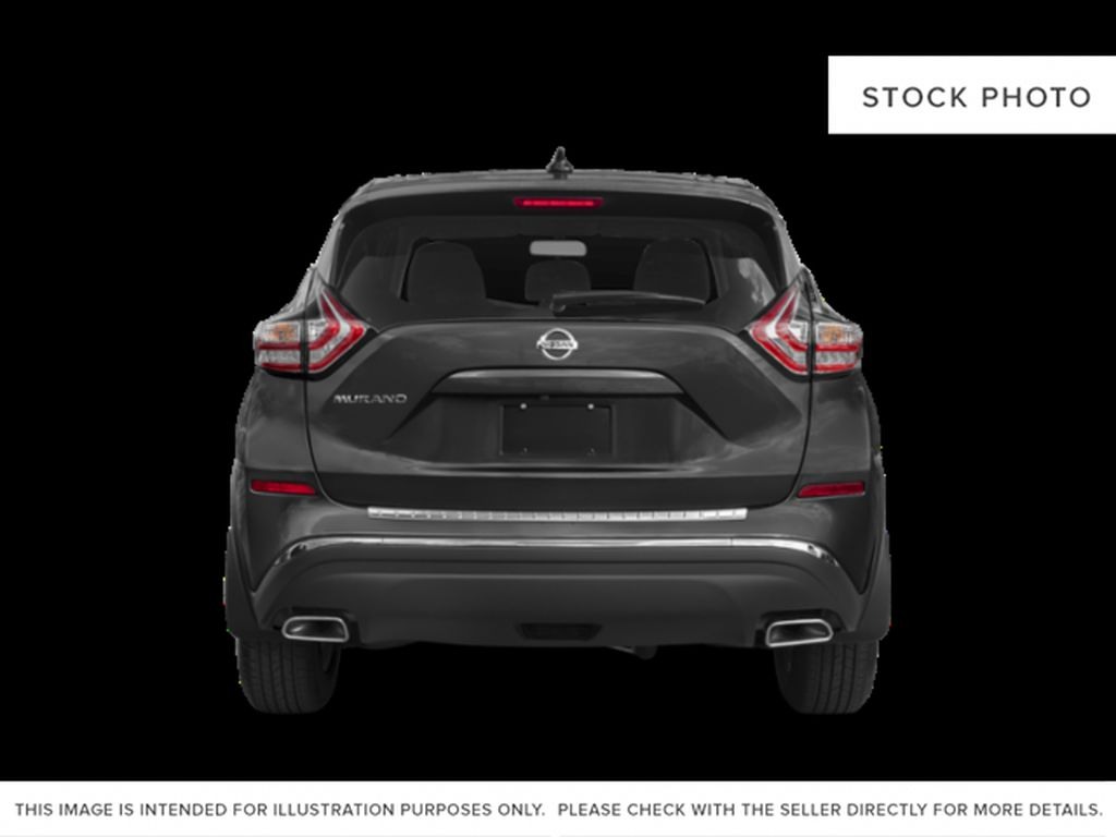 White[Pearl White] 2018 Nissan Murano Rear of Vehicle Photo in Okotoks AB