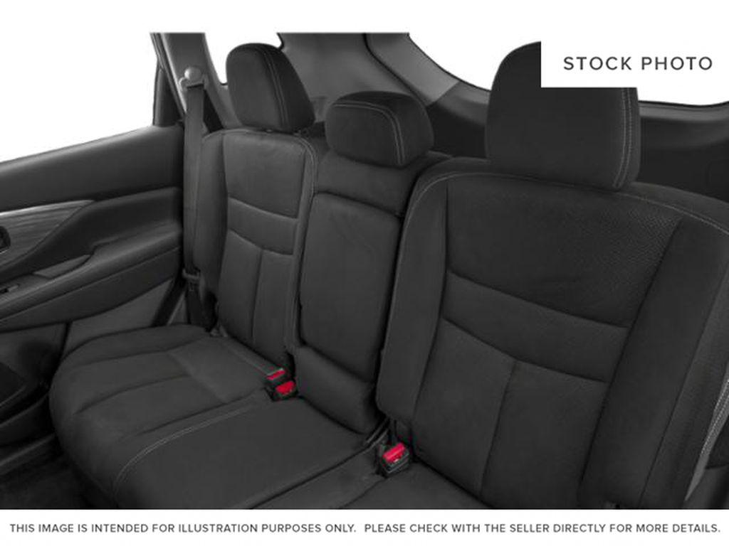 White[Pearl White] 2018 Nissan Murano Left Side Rear Seat  Photo in Okotoks AB