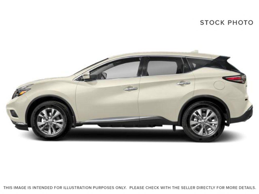 White[Pearl White] 2018 Nissan Murano Left Side Photo in Okotoks AB