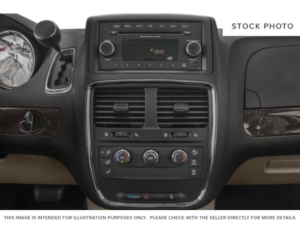 Blue[Indigo Blue] 2020 Dodge Grand Caravan Radio Controls Closeup Photo in Okotoks AB
