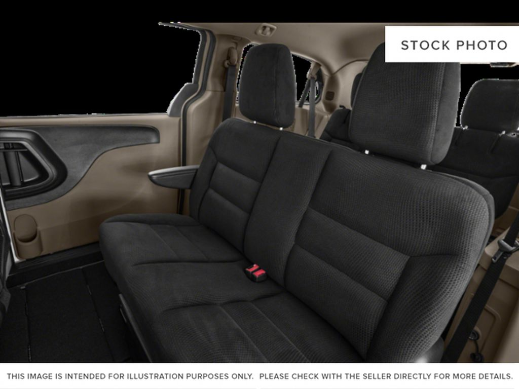 Blue[Indigo Blue] 2020 Dodge Grand Caravan Left Side Rear Seat  Photo in Okotoks AB