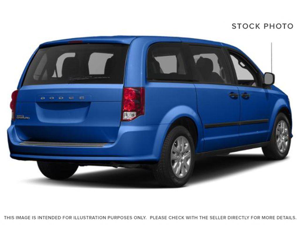Blue[Indigo Blue] 2020 Dodge Grand Caravan Right Rear Corner Photo in Okotoks AB