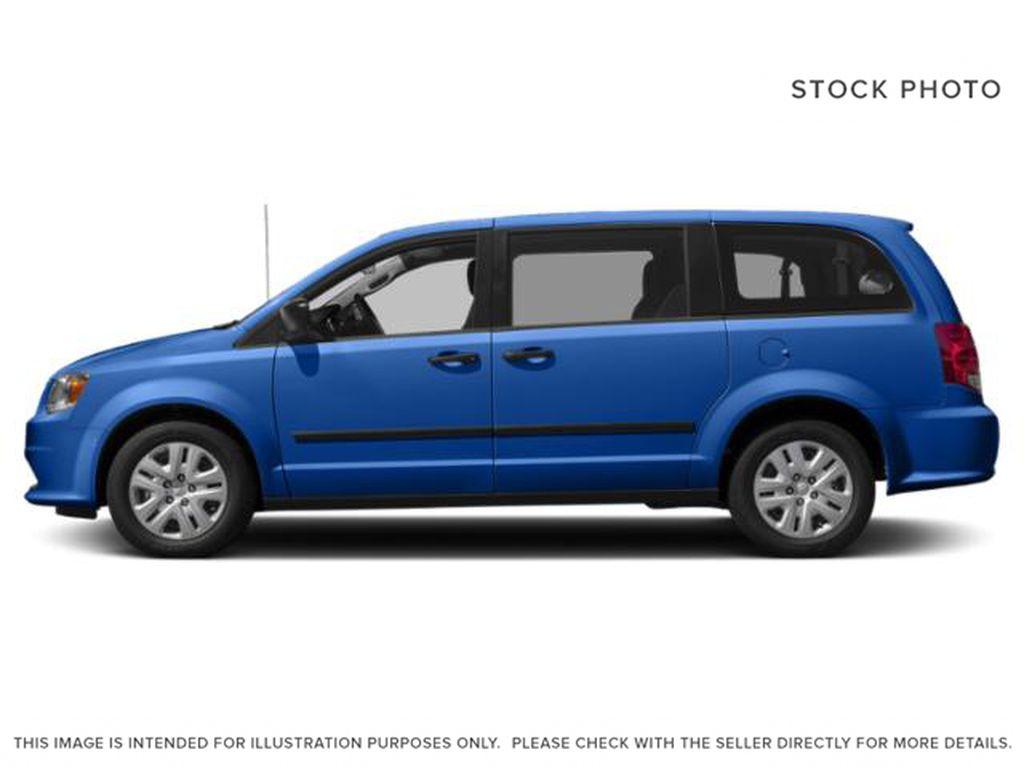Blue[Indigo Blue] 2020 Dodge Grand Caravan Left Side Photo in Okotoks AB