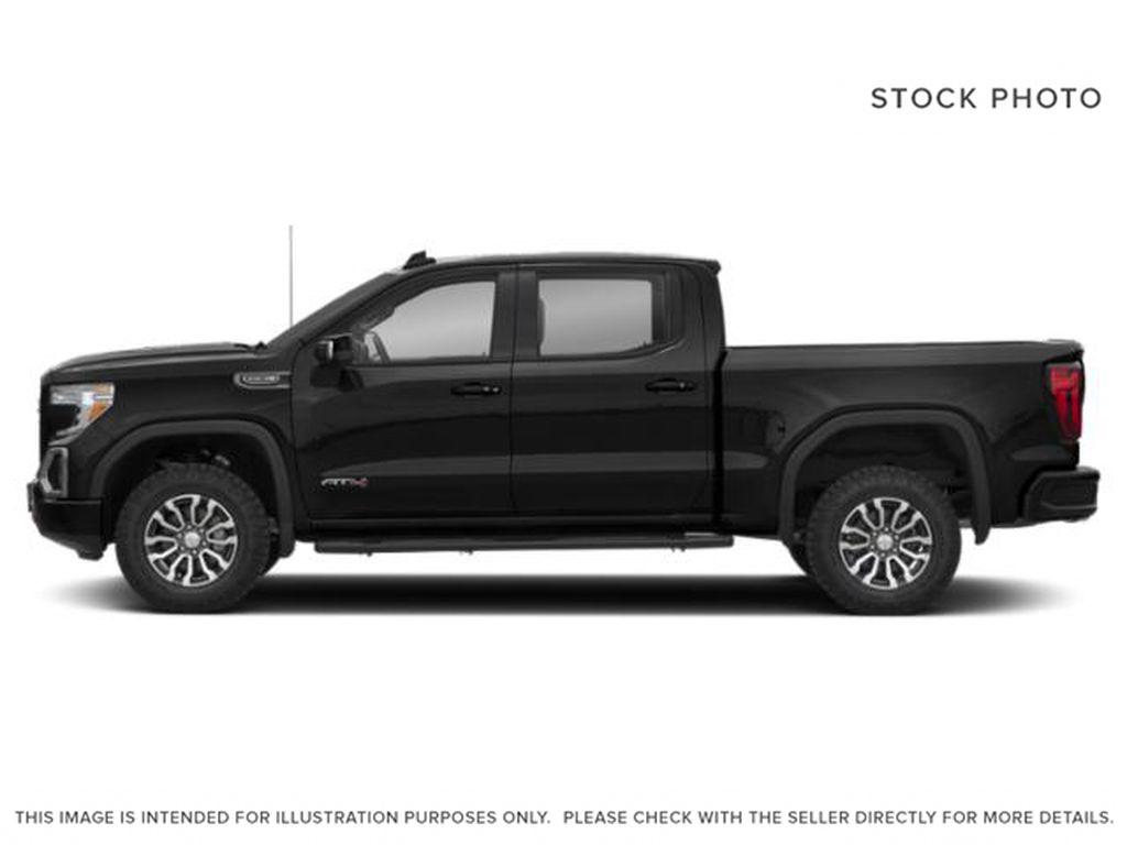 Black[Onyx Black] 2021 GMC Sierra 1500 AT4 Left Side Photo in Calgary AB