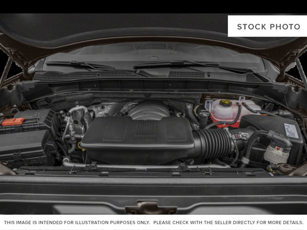 Black[Onyx Black] 2021 GMC Sierra 1500 AT4 Engine Compartment Photo in Calgary AB