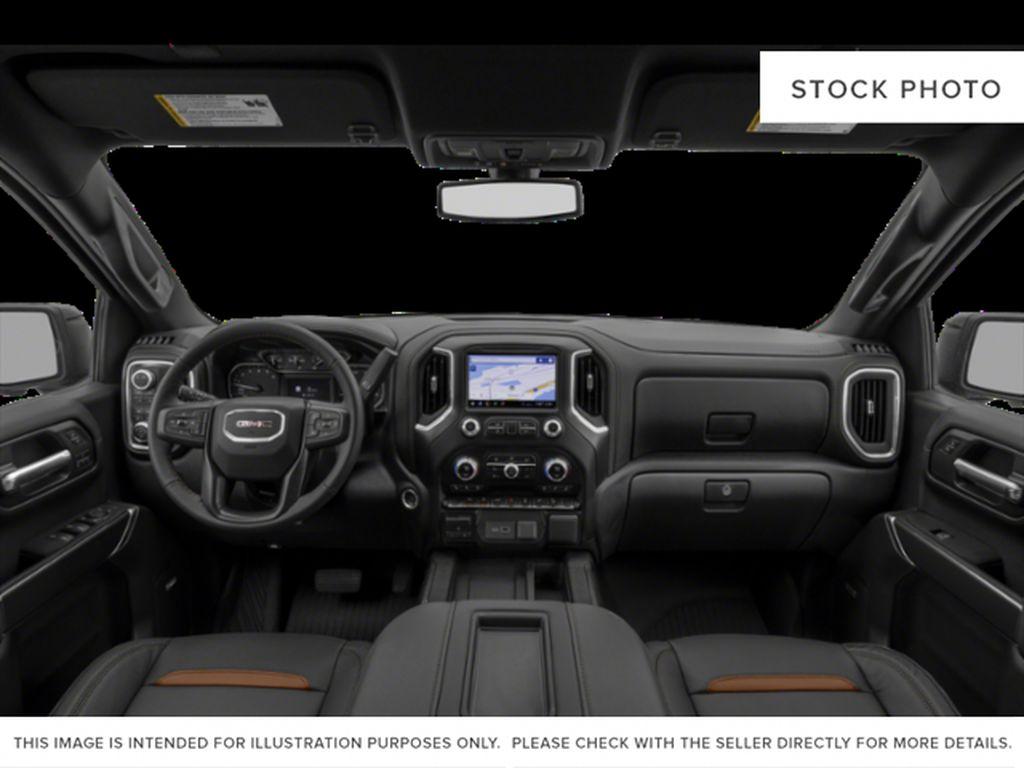 Black[Onyx Black] 2021 GMC Sierra 1500 AT4 Central Dash Options Photo in Calgary AB
