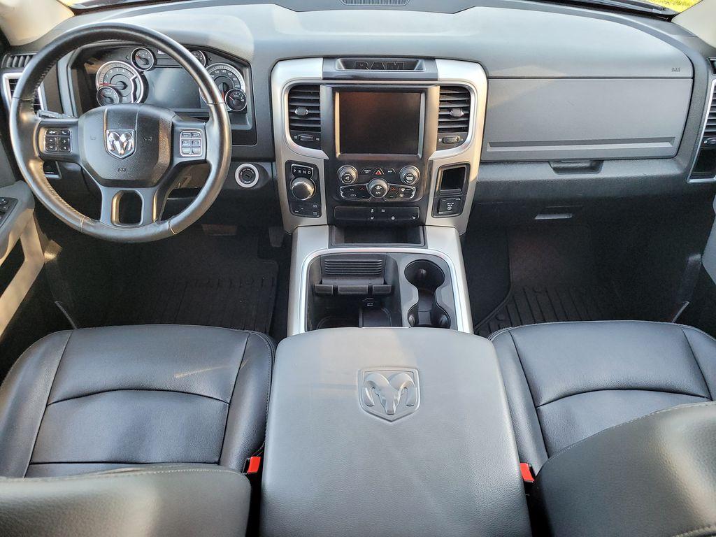 Black[Brilliant Black Crystal Pearl] 2016 Dodge Ram 1500 Outdoorsman 4WD Main Interior Photo in Kelowna BC