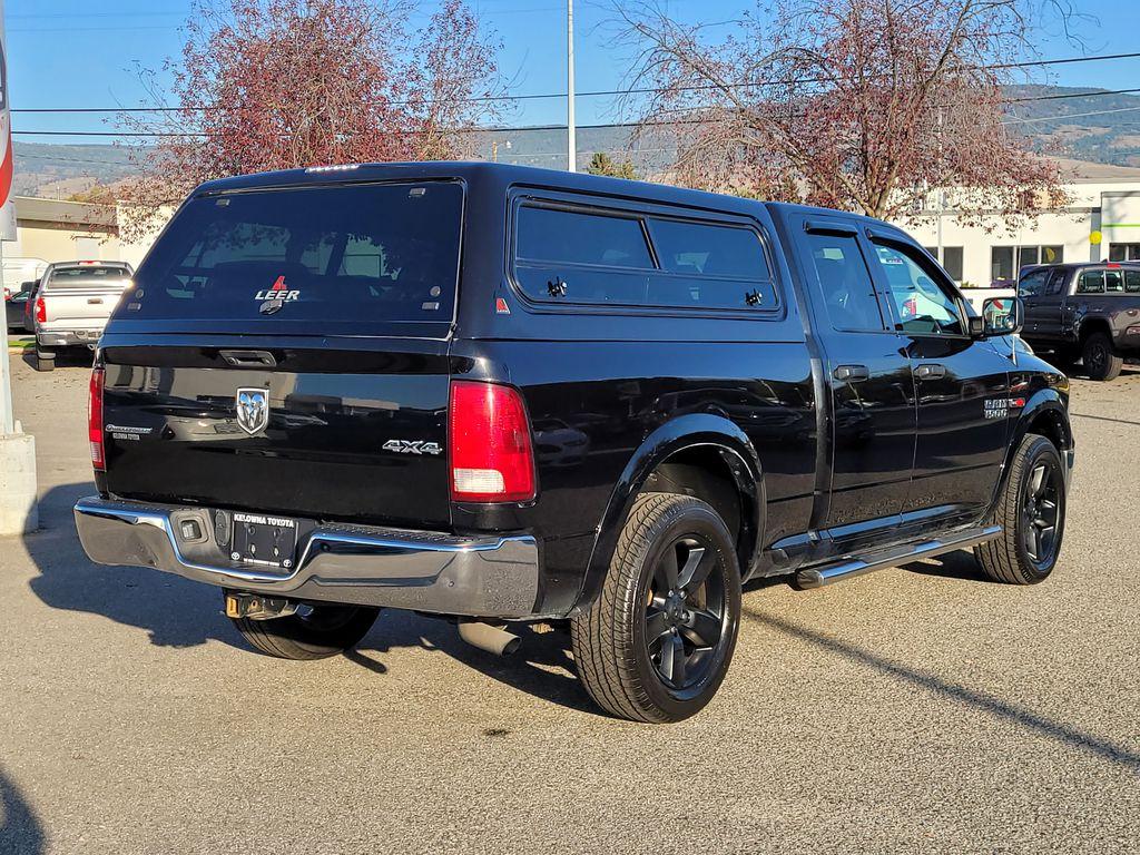 Black[Brilliant Black Crystal Pearl] 2016 Dodge Ram 1500 Outdoorsman 4WD Right Rear Corner Photo in Kelowna BC