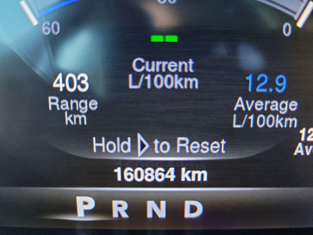 Black[Brilliant Black Crystal Pearl] 2016 Dodge Ram 1500 Outdoorsman 4WD Odometer Photo in Kelowna BC