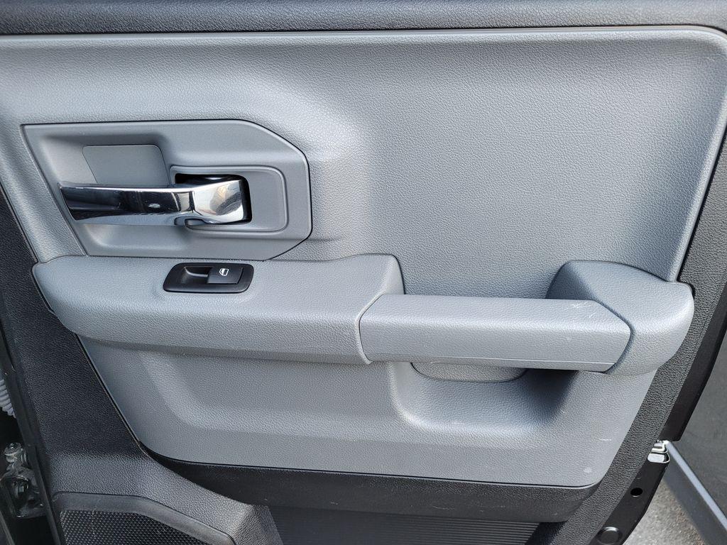 Black[Brilliant Black Crystal Pearl] 2016 Dodge Ram 1500 Outdoorsman 4WD Right Rear Interior Door Panel Photo in Kelowna BC