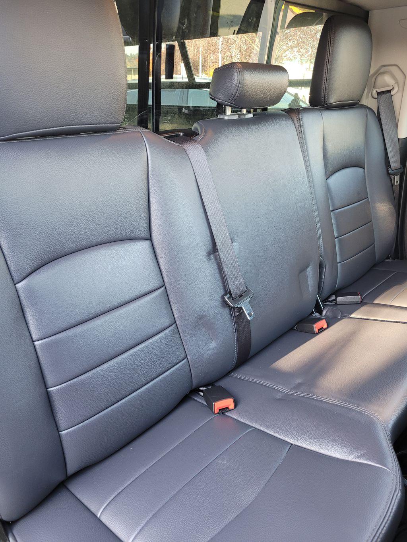 Black[Brilliant Black Crystal Pearl] 2016 Dodge Ram 1500 Outdoorsman 4WD Right Side Rear Seat  Photo in Kelowna BC