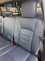Black[Brilliant Black Crystal Pearl] 2016 Dodge Ram 1500 Outdoorsman 4WD Left Side Rear Seat  Photo in Kelowna BC