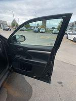 Black[Midnight Black Metallic] 2018 Toyota Highlander Left Side Rear Seat  Photo in Brampton ON