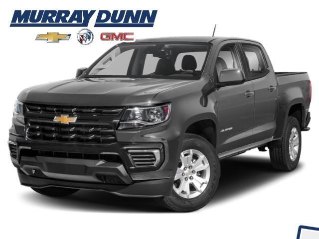 Satin Steel Met 2022 Chevrolet Colorado