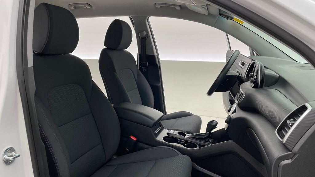 White[Crystal White] 2020 Hyundai Tucson Preferred AWD Right Side Front Seat  Photo in Winnipeg MB